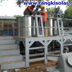 Coagulant-floculant Tanks