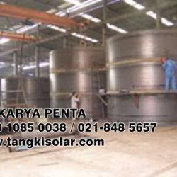 Tangki Solar Genset